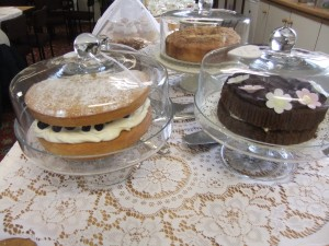 Cakes at our coffee morning